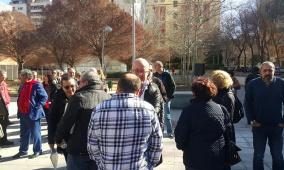 افتتاح حديقة فلسطين في العاصمة الاسبانية مدريد