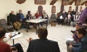التجمع الديمقراطي يشارك في منتدى التضامن مع الفلسطينيين في النمسا