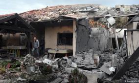 الأول منذ عام 2014..صاروخ نوعي يقصف شمال تل أبيب