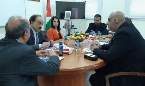 كهرباء القدس تستقبل وفدا شركة النقل الوطنية للكهرباء وتبحث تعزيز سبل التعاون