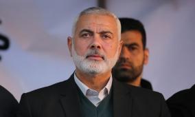 هنية يحذّر من تداعيات عدوان الاحتلال على المصلين بالأقصى