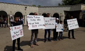 إضراب عام احتجاجا على مشروع عنفات الرياح في الجولان