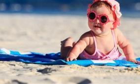 هكذا تحمي طفلك من أشعة الشمس