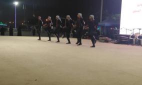 فرقة الكوفية الفلسطينية تتألق في مهرجان صلالة