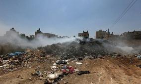 توصية بتشكيل لجنة مجتمعية وتعهد بعلاج المكبات العشوائية في غزة