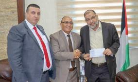الإسلامي الفلسطيني وبلدية الخليل يوقعان اتفاقية لترقيم الأبنية