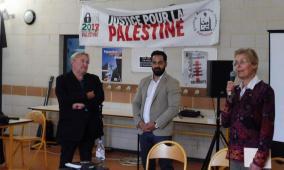 يوم تضامني مع فلسطين في مدينة ليل الفرنسية