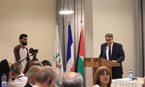 اتحاد الهيئات المحلية يختتم أعمال مؤتمر الشراكات الفلسطينية الفرنسية