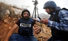 في ظل استمرار الاعتداءات..من يحمي الصحفيين الفلسطينيين؟