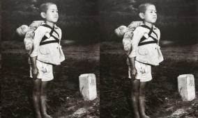 طفل ينتظر دوره في محرقة الجثث!
