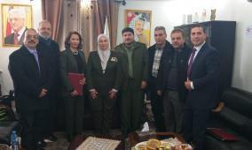 مجموعة مختبرات مدلاب والخدمات الطبيه العسكريه توقعان إتفاقية تعاون