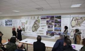 طلبة في جامعة القدس يقدمون حلولاً ابتكارية لمخطط الجامعة الهيكلي