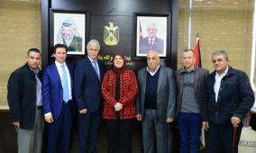 توقيع اتفاقية لانشاء مدرسة في مخيم عقبة جبر بأريحا