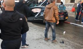 صور.. حادث سير مروع في الرملة