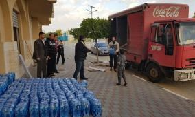 المشروبات الوطنية تواصل مساهماتها لدعم جهود مكاقحة كورونا