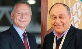 محافظ نابلس يشيد بجهود بشار المصري في أزمة كورونا
