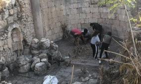 كاريتاس القدس تنظم عدة أنشطة تطوعية في قرية جفنا