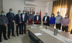 مختبرات مدلاب توقع إتفاقية عمل وتعاون مع محافظ بيت لحم