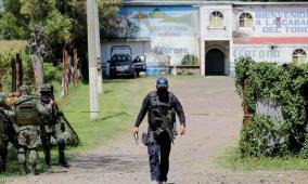 مصرع 11 في مذبحة بحانة في المكسيك