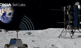 شبكة اتصالات خلوية على القمر!