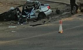 وفاة  شاب من رهط في حادث طرق