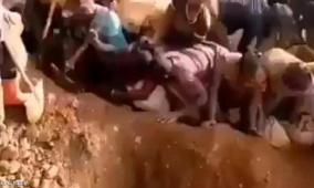 بالفيديو.. العثور على جبل من الذهب في الكونغو