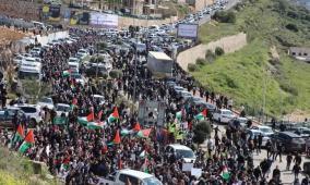 أم الفحم: تظاهرة حاشدة ضد الجريمة وتواطؤ الشرطة الإسرائيلية