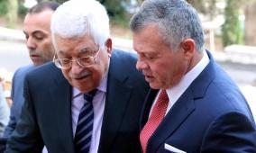 اتصال هاتفي بين الرئيس عباس والعاهل الأردني