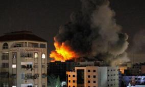 """غارات عنيفة على غزة و""""الكابينت"""" يوافق على تكثيف القصف"""