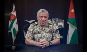ملك الأردن يوجه بإرسال مساعدات طبية عاجلة لغزة والضفة
