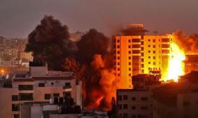 """بعد وصوله """"تل أبيب"""".. الوفد المصري يحذر الاحتلال من أي عملية برية بغزة"""