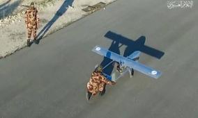 القسام يعلن تنفيذ عدة هجمات بطائرات مسيرة انتحارية