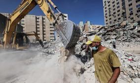 أكسيوس: إسرائيل تهدد بتعليق عملية إعادة إعمار غزة