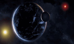 اكتشاف كوكبين عملاقين غازيين يدوران حول نجم بعيد يشبه الشمس