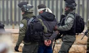 الاحتلال يعتقل 12 مواطنا خلال مشاركتهم في مسيرة شرق طوباس