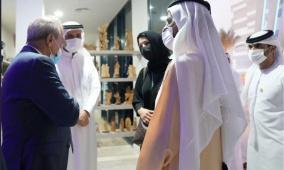 بالصور: أول لقاء فلسطيني إماراتي منذ سنوات في دبي