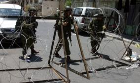 في ثاني ايام العيد:  الاحتلال ينصب حواجز عسكرية جنوب جنين