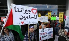 العليا الامريكية تسمح بتطبيق جزئي لقرار حظر دخول المسلمين