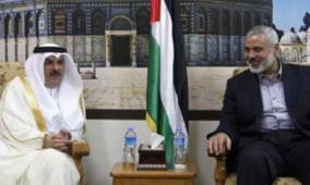 """محدث- العمادي يصل غزة.. هل يتوسط لحل ازمة """"حماس- السلطة""""؟"""