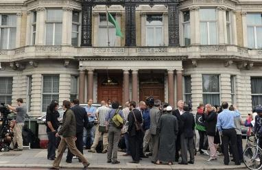 التايمز : إرهابي قيادي يعمل في السفارة الليبية في لندن