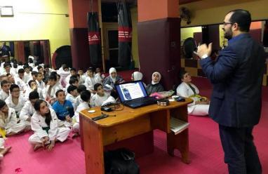 أكاديمية الأقصى تنهي معسكرها الشتوي الاول لطلاب الكاراتيه