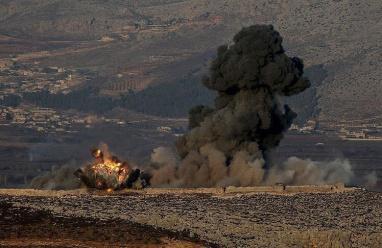 اقتحام بري تركي لمنطقة عفرين الكردية السورية