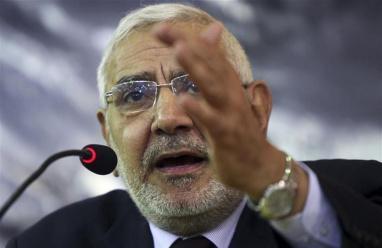 """محكمة الجنايات المصرية تدرج أبو الفتوح على قوائم """"الارهاب"""""""