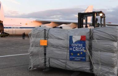 مساعدات فرنسية لغوطة دمشق