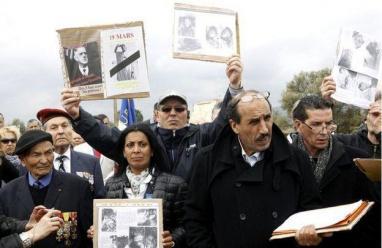 ماكرون يكرم العملاء الجزائريين خلال ثورة التحرر