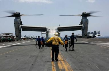 صور.. تدريبات أمريكية عسكرية كبيرة في الخليج