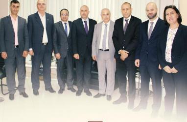 انتخاب الشنطي رئيسا لمجلس إدارة الاتحاد الفلسطيني لشركات التأمين