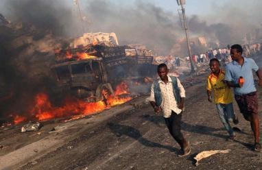 مقتل 17 على الأقل في انفجار بالعاصمة الصومالية
