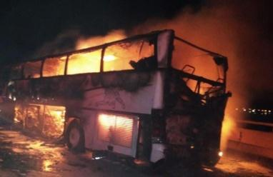 وفاة 35 معتمرًا وإصابة 4 آخرين إثر حادث مروع في السعودية