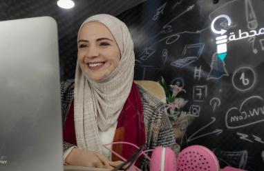 افتتاح مشروع المحطة للإعلامية ميساء الشامي